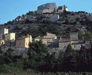 Vue sur le Castellas
